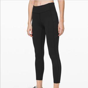 Black speed up tights